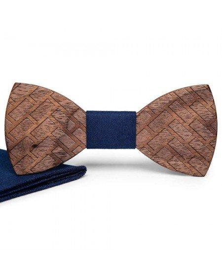 Wood Bow Tie   Charles