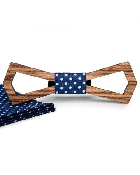Wood Bow Tie   Roger