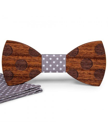 Wood Bow Tie | Pierre