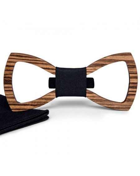 Wood Bow Tie   Maxime