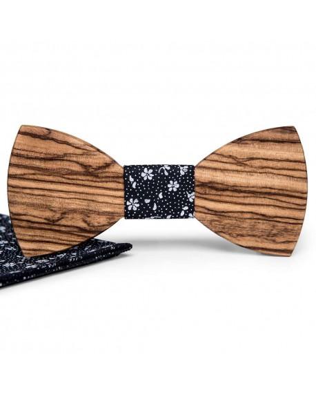 Wood Bow Tie | Olivier