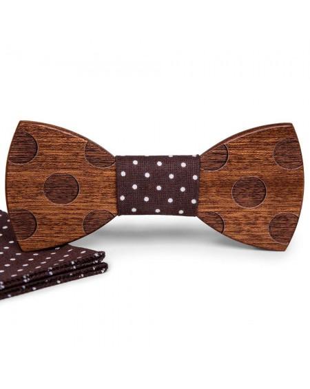 Wood Bow Tie   Luis