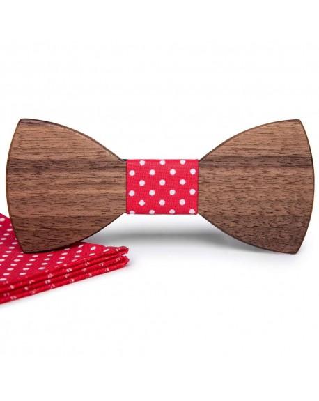 Wood Bow Tie   Hugo