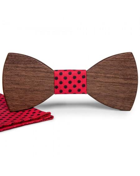 Wood Bow Tie   Felix