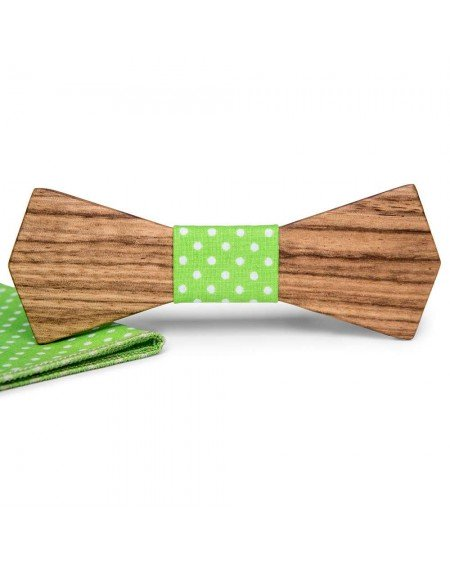 Wood Bow Tie   Victor