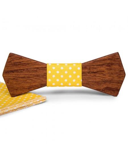Wood Bow Tie   Leon
