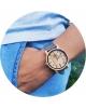 Zegarek Drewniany Lady Olivia Grey