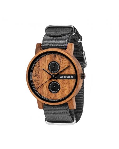 Drewniany Zegarek Vincent Grey