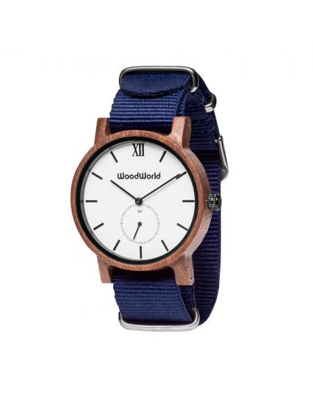 Drewniany Zegarek Xavier Blue