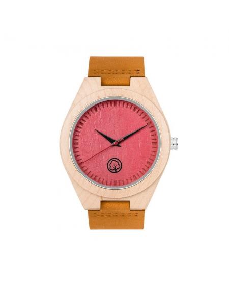 Drewniany Zegarek Lady Pink