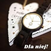 Jeśli zastanawiasz się, czy zamówiony produkt dojdzie do Świąt to odpowiadamy - TAK! Zamówienia realizujemy i wysyłamy w ciągu 1-2 dni, tak więc wszystko będzie na czas. A drewniany zegarek Lady Victoria w specjalnym rabacie -100zł!